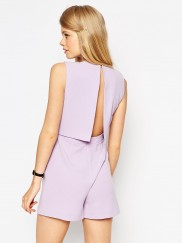 Open Back and Pleat Detail